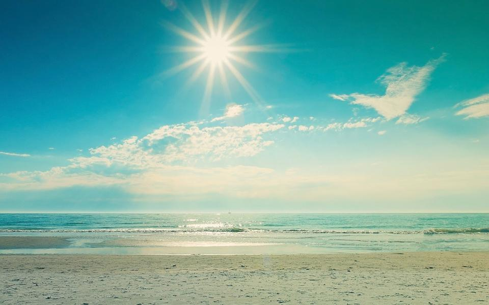 Sand and Sun, Summer has Begun!
